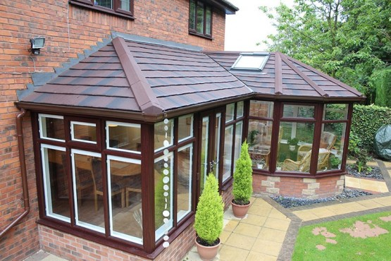 Conservatory with supalite roof
